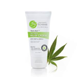 Weh Weh® Natural Relief Cream with Hemp and Arnica