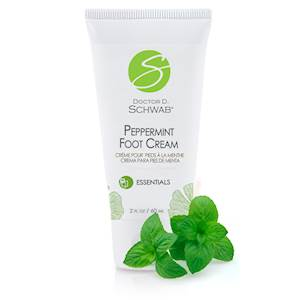 Peppermint Foot Cream with Shea Butter and Hemp